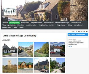 village website
